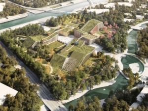 Zhangijang future park: MVRDV