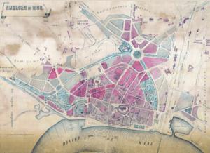 kaart nl van vesting naar stedenbouw